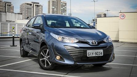 Sedãs compactos em novembro: Yaris Sedan supera HB20S e Cronos