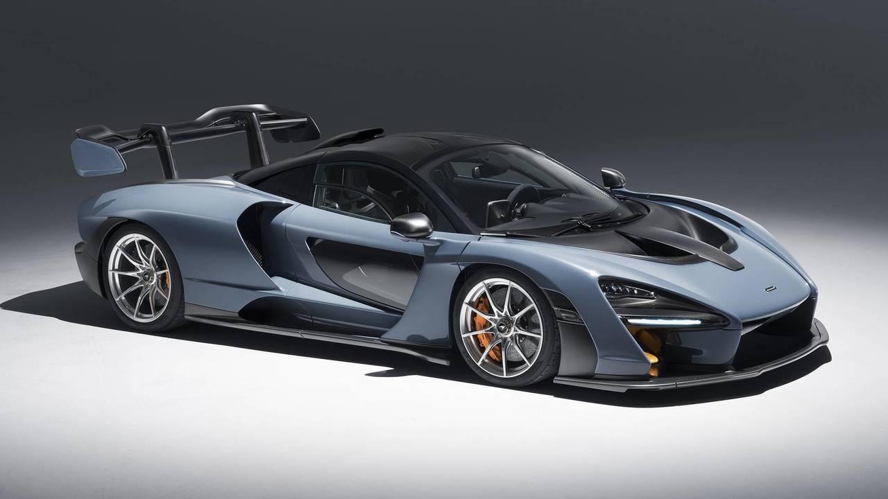8. McLaren Senna 2018 - 800 CV