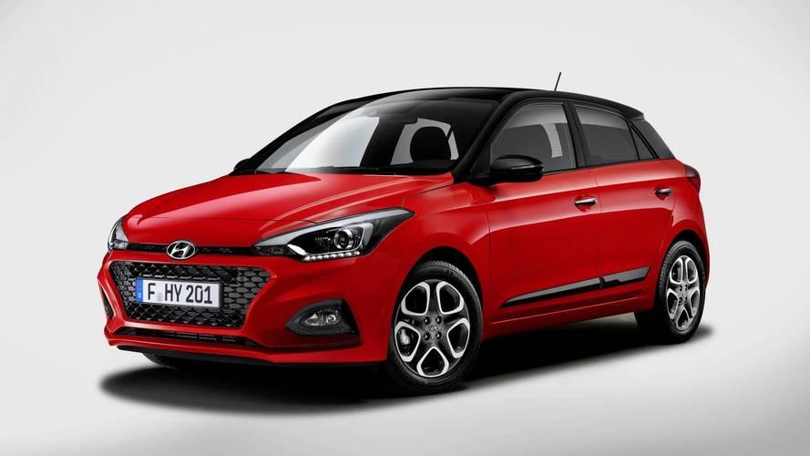 2018 Hyundai i20 yeni ön ızgara ve teknolojilerle geldi