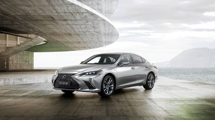 £35,000 Lexus ES is here to take on BMW, Audi and Mercedes