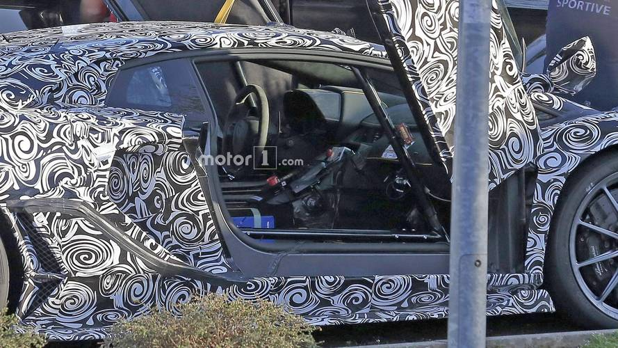 Lamborghini Aventador SVJ Interior Spied From Afar