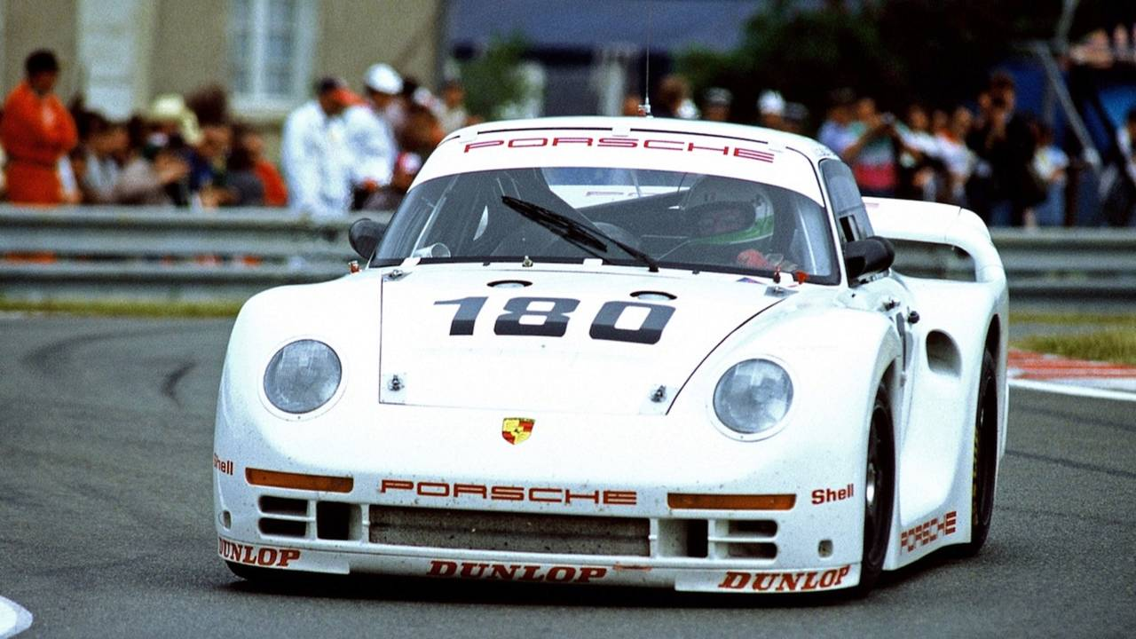 Porsche 961 1986 - Colores de fábrica