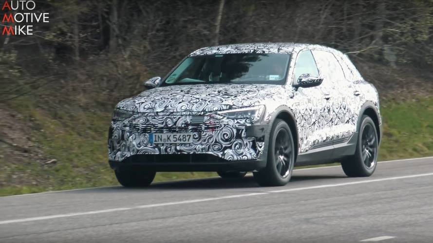 2019 Audi E-Tron Caught Torturing Its Tires At The Nürburgring