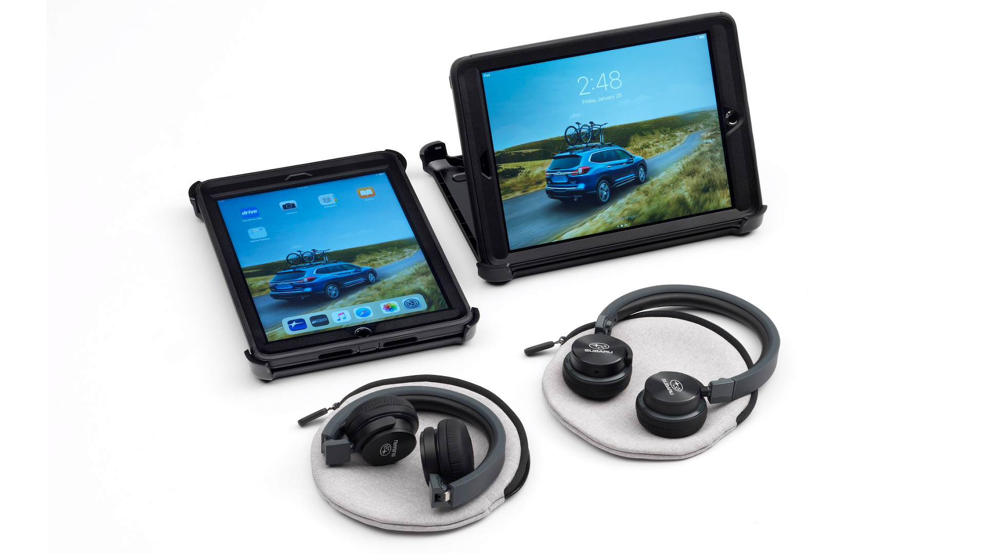 Subaru Now Selling Two iPads Instead Of Rear Entertainment