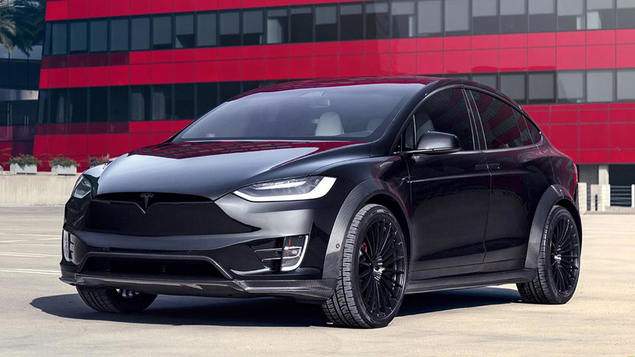 Introducing T Sportline Tesla Model X Wide Body Package