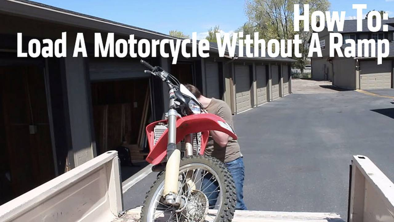 How To Load A Motorcycle Without A Ramp