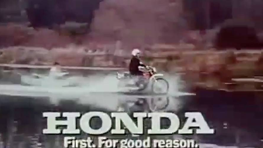 Malcolm Smith: Vintage Honda Commercial