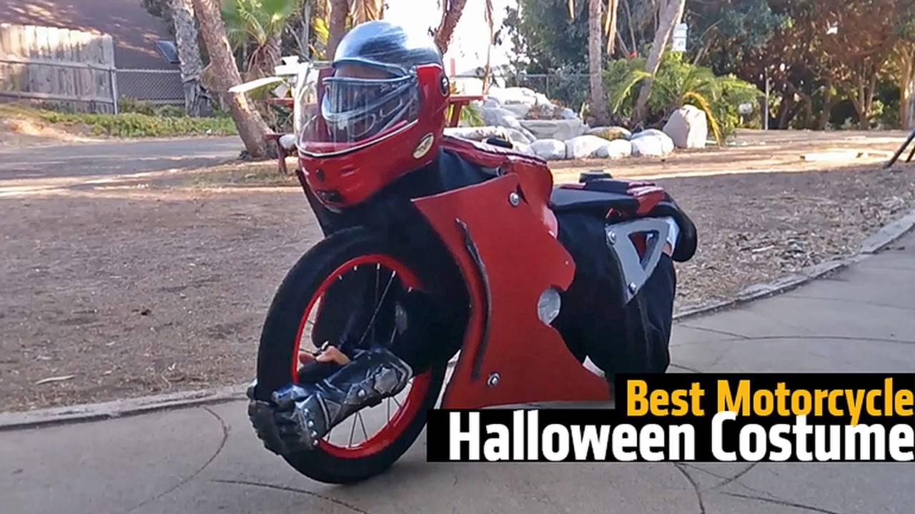 Best Motorcycle Halloween Costume - Video