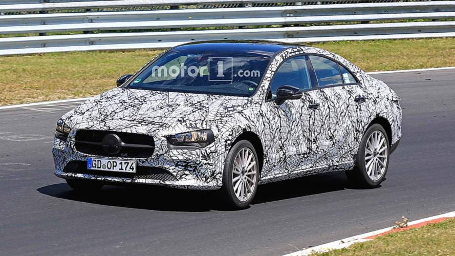 Next Mercedes-Benz CLA-Class Spied Looking Sleek At The 'Ring