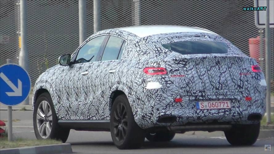 2020 Mercedes GLE Coupe Spied For The First Time