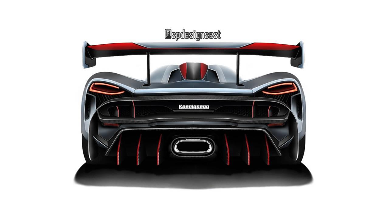 Illustration remplaçante Koenigsegg Agera RS