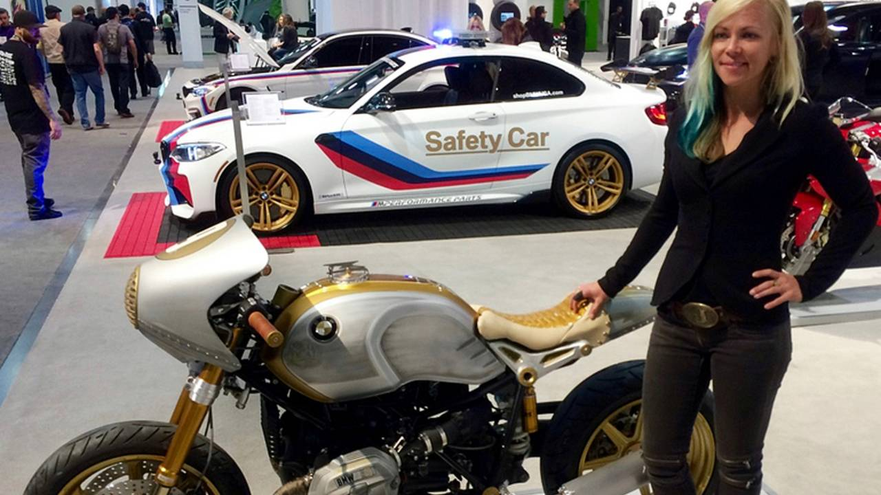 Real Deal BMW R nineT at SEMA