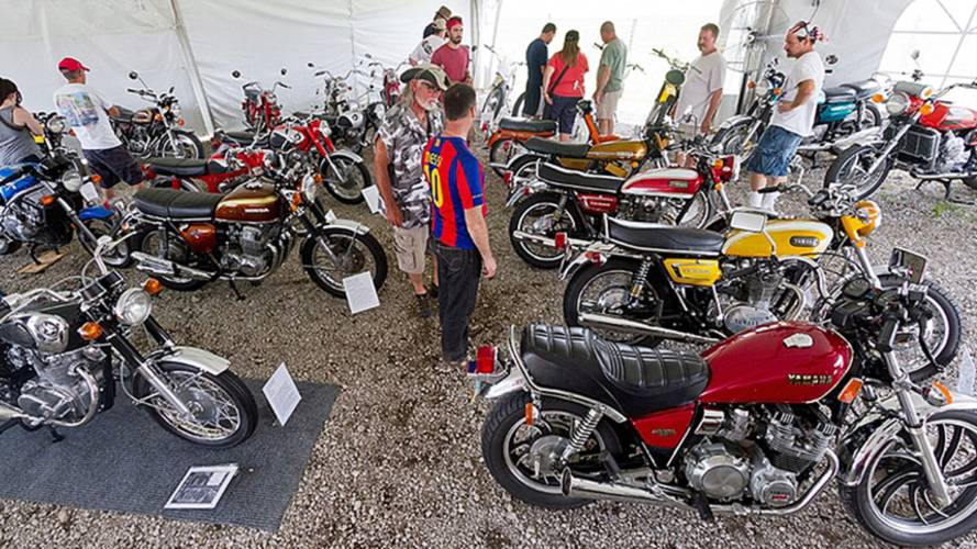 Vintage Japanese Motorcycle Club Turns 40