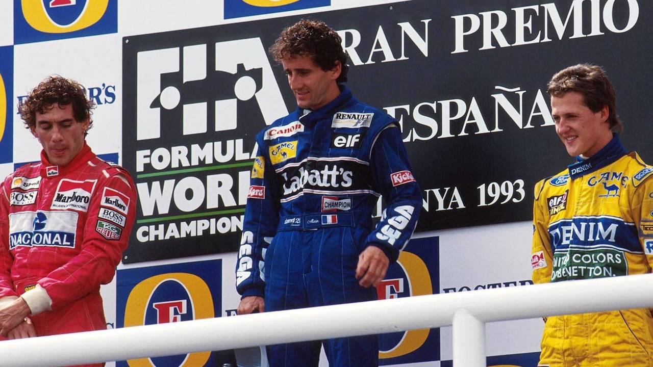 Pódio do GP da Espanha