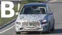 2019 Mercedes B-Class screenshots from spy video