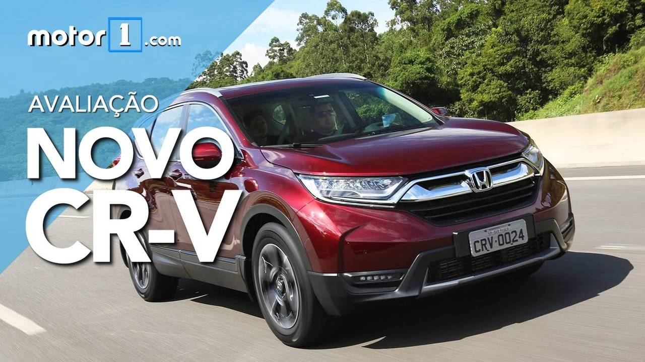 Vídeo - Avaliação Honda CR-V
