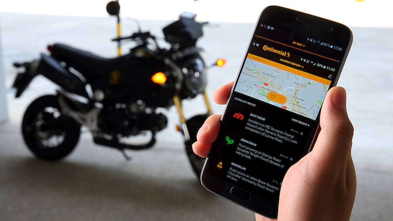 App Uses 'Swarm' to Aid Motorcyclists