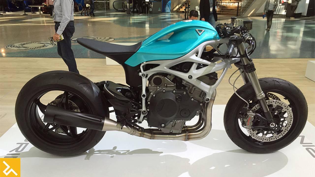 Supercharged Divergent 3D Dagger Concept Bike