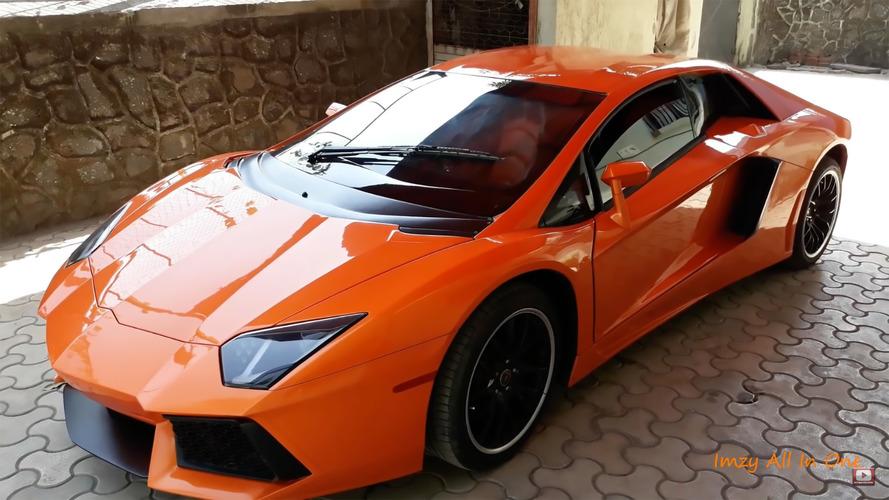 VIDÉO  - Ceci n'est pas une Lamborghini Aventador