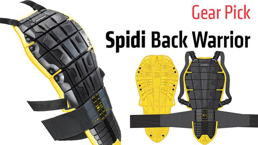 Gear Pick: Spidi Back Warrior