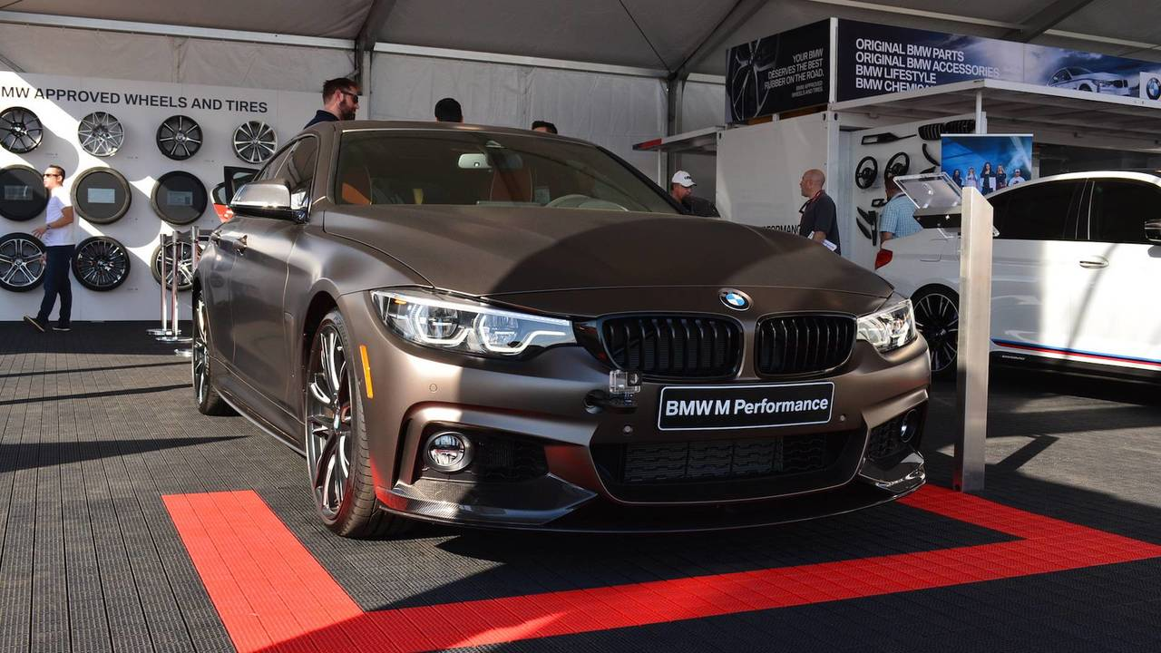 2018 BMW 440i Gran Coupe with M Performance Parts