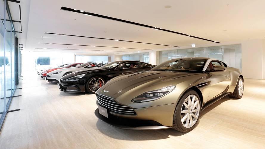 En büyük Aston Martin bayisi Tokyo'da açılıyor