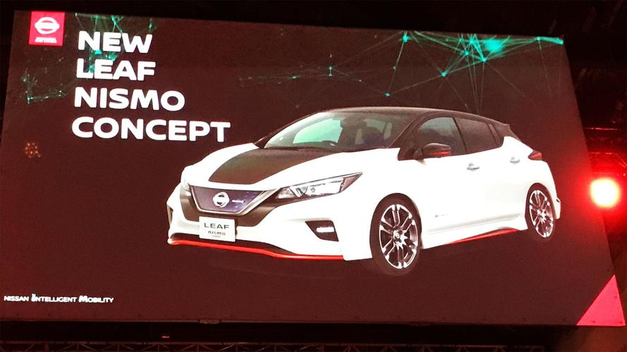 Nissan Leaf NISMO Concept Headed To Tokyo Motor Show