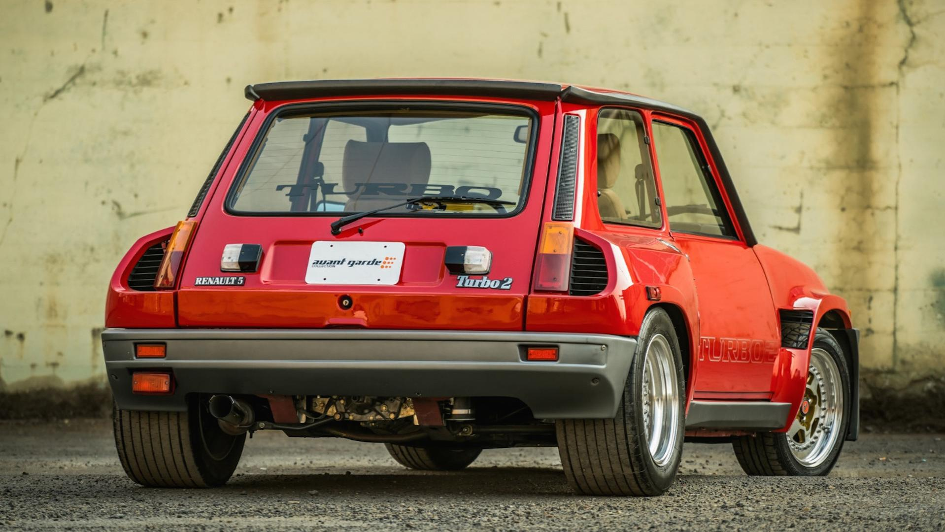 Low Mileage Renault R5 Turbo 2 Evo Sells For Nearly Six Figures Update