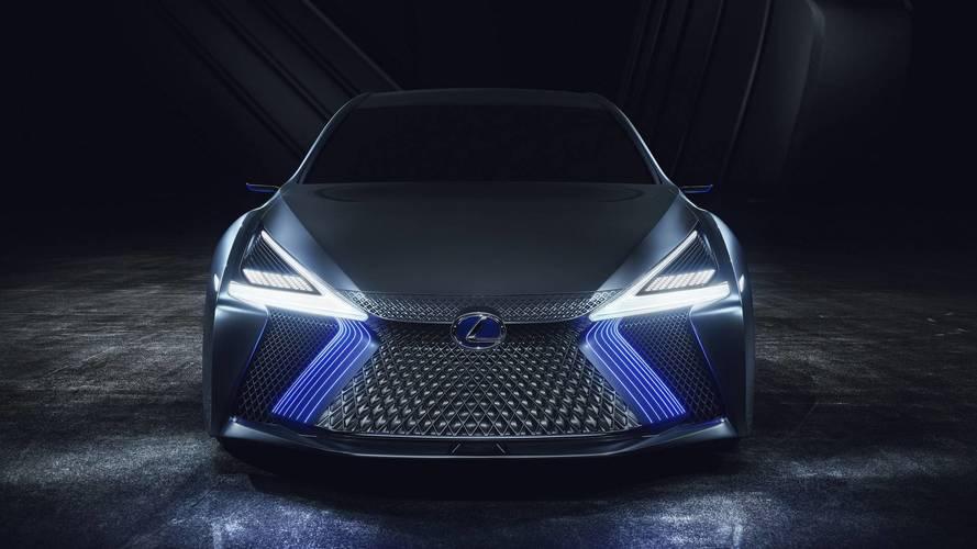 2017 Lexus LS+ tanulmány