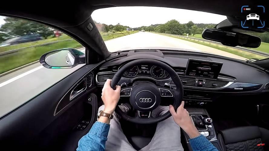 VIDÉO - Une Audi RS6+ ABT de 705 ch à l'assaut de l'autobahn
