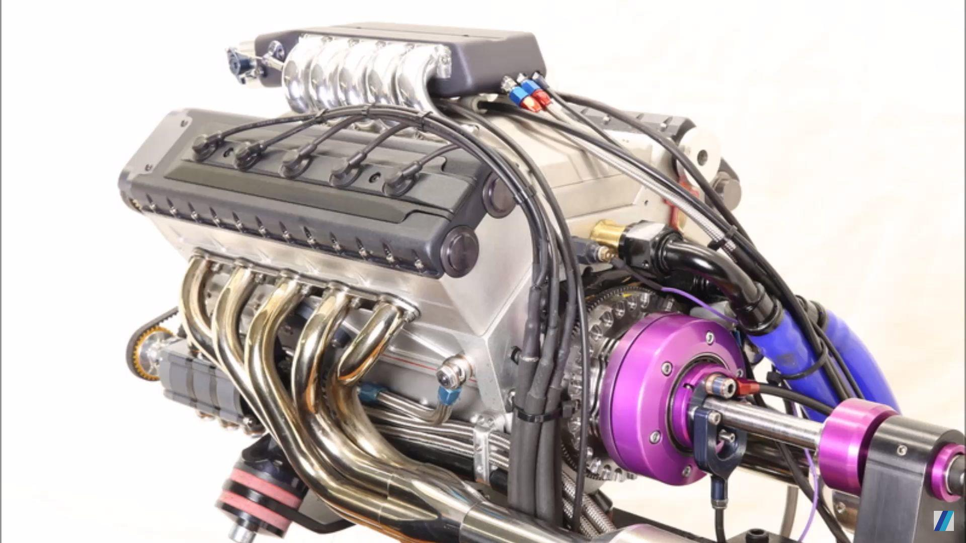 Amazing Miniature V10 Engine Gushes With Craftsmanship
