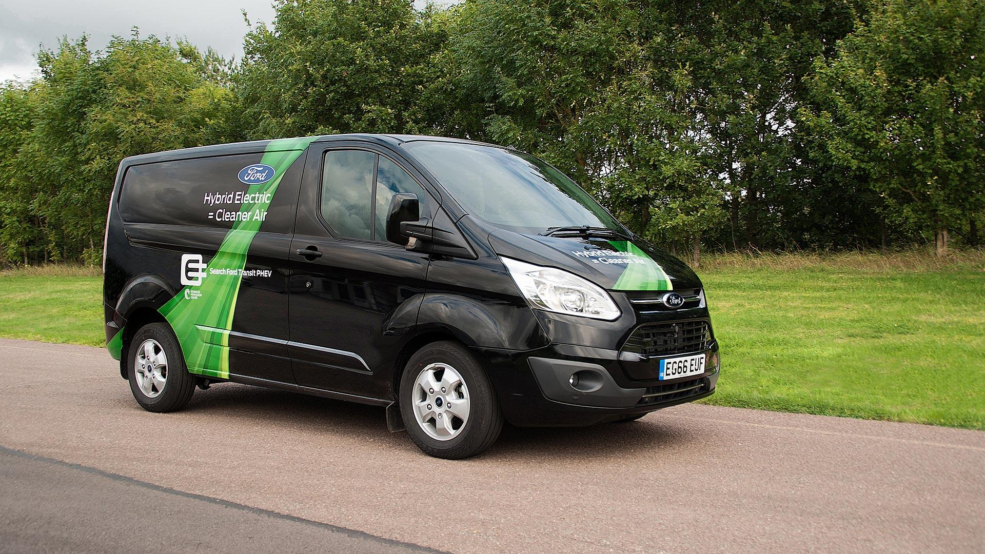 85a7680fa9 Ford Transit Plug-In Hybrid Brings Greener Deliveries To London