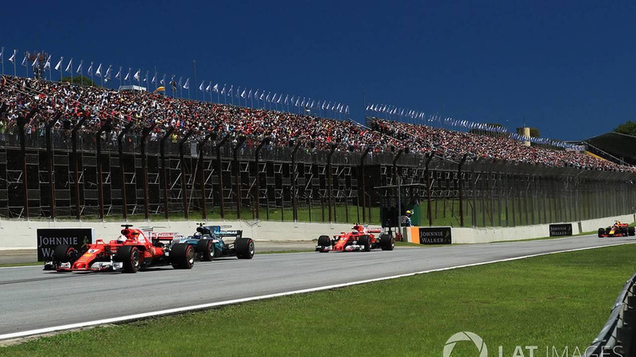GP Brasil 2017, carrera