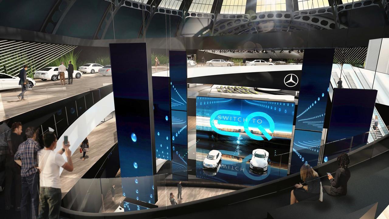 Mercedes teaser Francfort