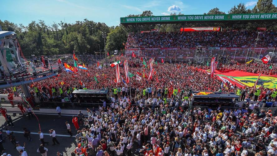 F1 Grand Prix d'Italie 2017 podium