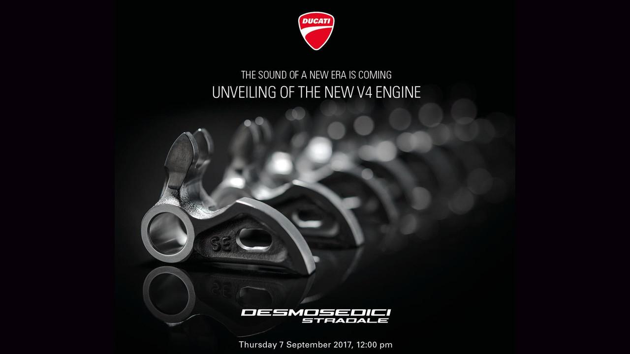 Presentación motor Ducati V4