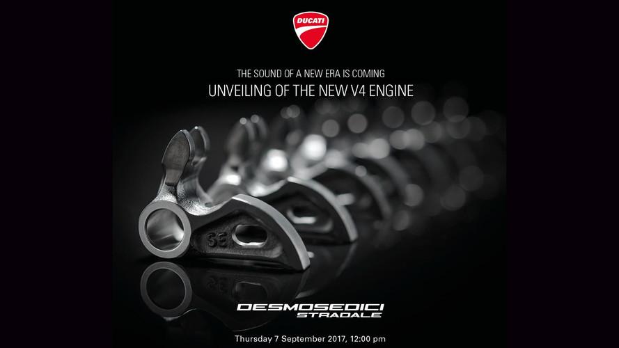 Ducati presentará su motor V4 de calle durante el GP de San Marino