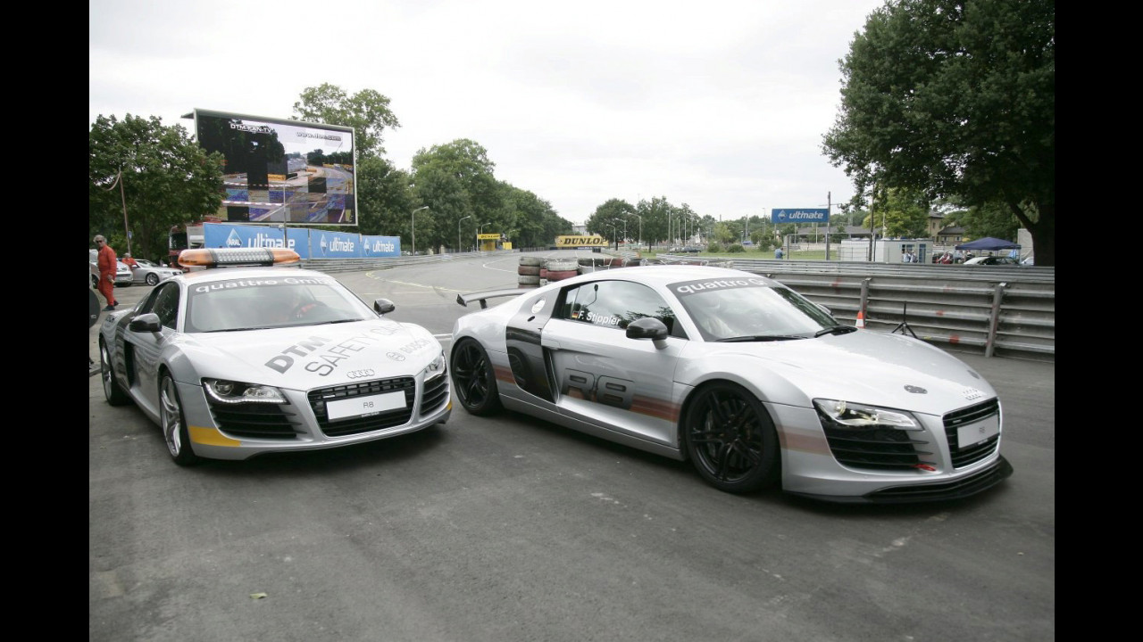 Audi R8: safety car per il DTM