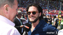 Kit Harrington et Liam Cunningham F1 Monza