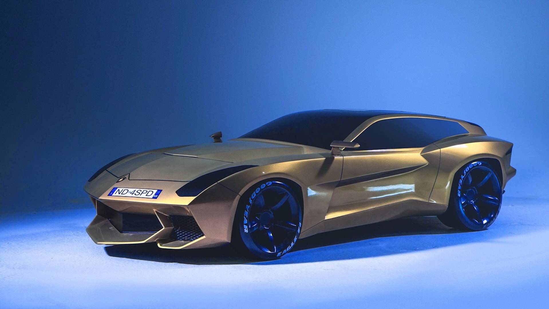 Lamborghini Shooting Brake Concept Is Worthy Of All Your Money