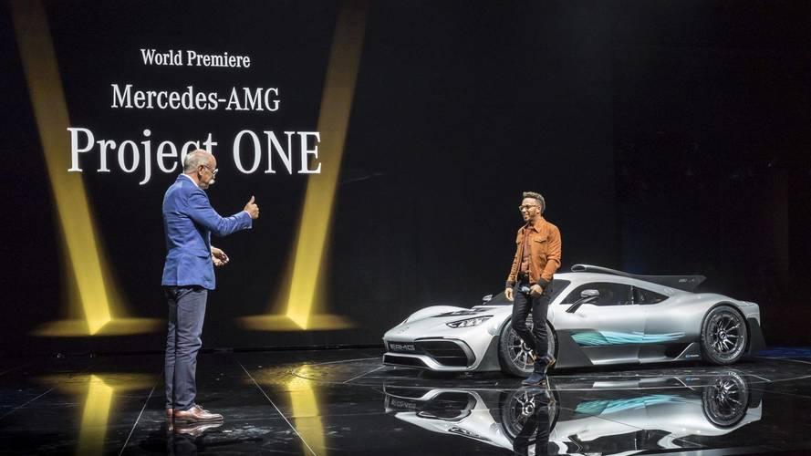 Lewis Hamilton különkiadást akar a Mercedes-AMG Project One-ból – és maga tervezné