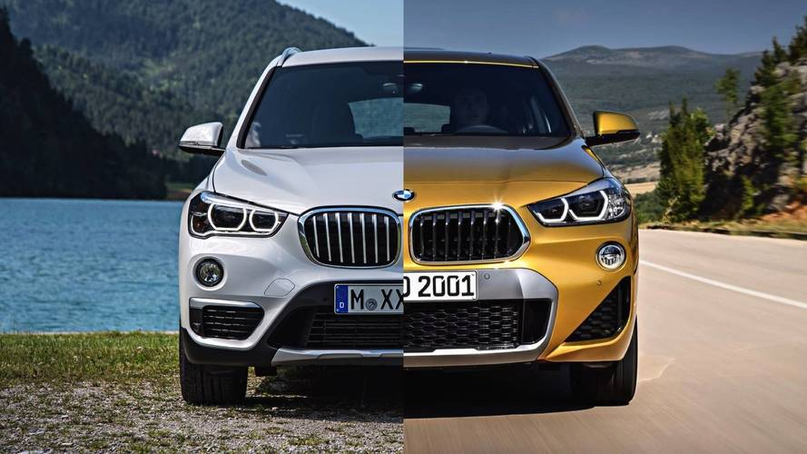 BMW X2 Vs. BMW X1: See The Changes Side-By-Side