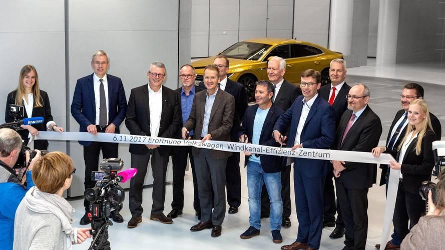A Volkswagen új szélcsatornája