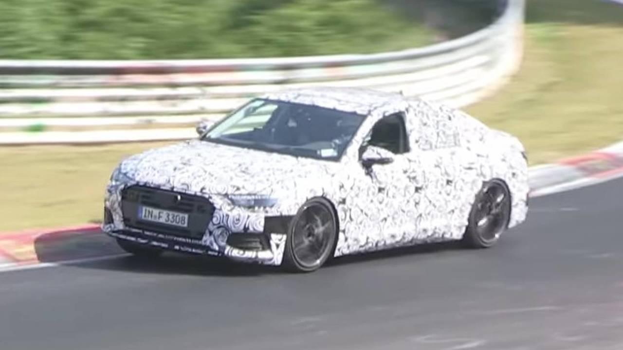 Audi S6 Spy Video Nurburgring