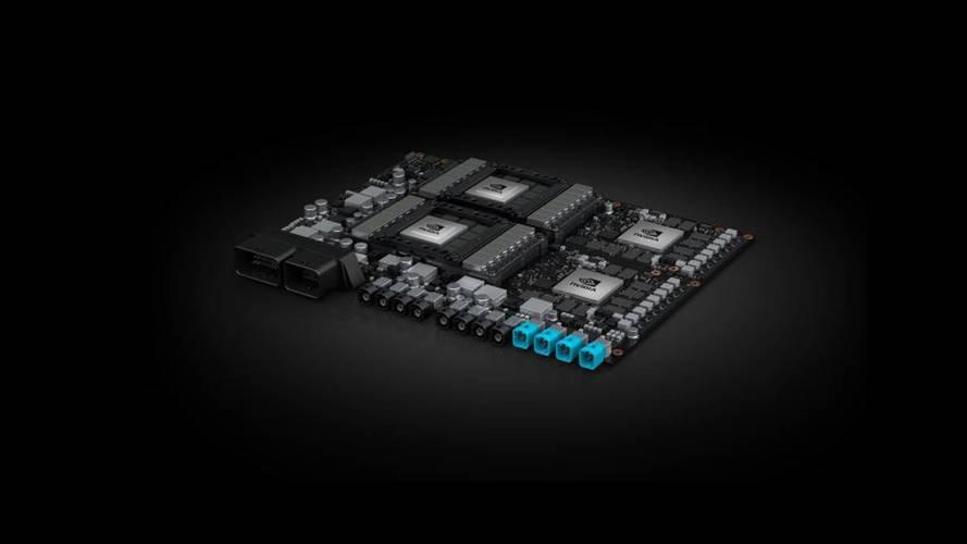 Une nouvelle plate-forme Nvidia pour des voitures 100 % autonomes