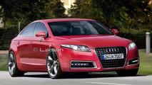 Audi A7 rendering