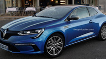 Renault Megane Coupe rendering / Theophilus Chin