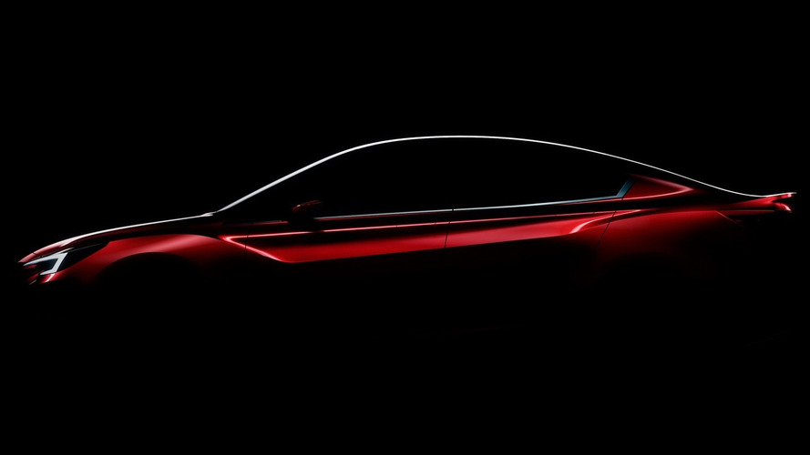 Subaru teases sleek Impreza Sedan Concept for LA debut