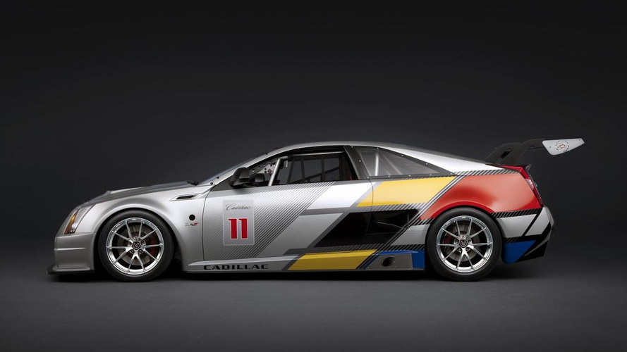 Cadillac CTS-V Racing Coupe ready for competition