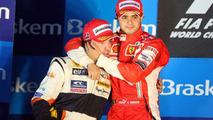 Fernando Alonso (ESP) and Felipe Massa (BRA), Brazilian Grand Prix 02.11.2008
